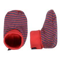 Schuhe - Winter Red Stripes