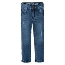 Jungen Skinny Jeans Slim Fit mit verwaschener Optik - Blue Denim