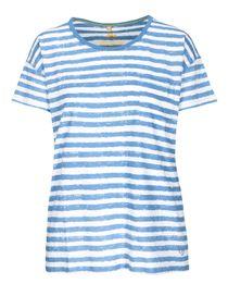 FRY DAY T-Shirt mit Brusttasche - Sky Blue