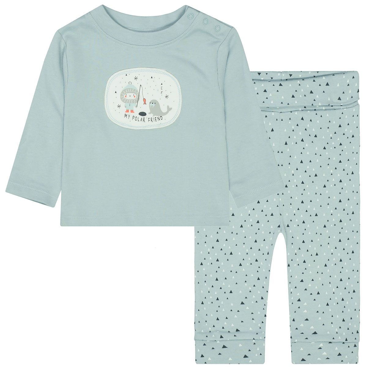 ORGANIC COTTON Pyjama – Ice Mint