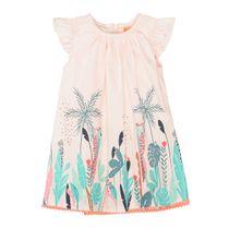 Kleid mit Dschungel-Print - Powder
