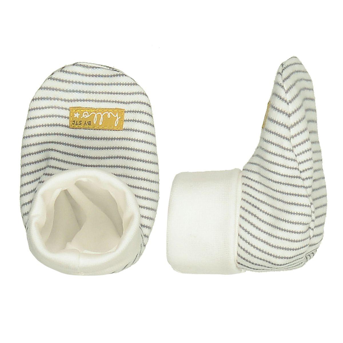 ORGANIC COTTON Schuhe mit Allover-Print - Offwhite