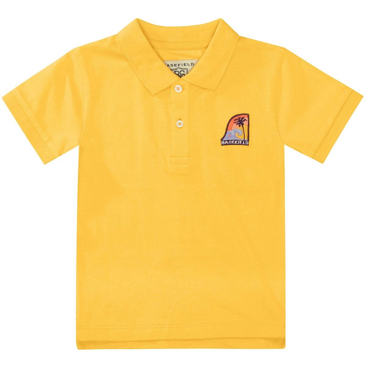 BASEFIELD Poloshirt - Sun Yellow