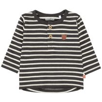 ORGANIC COTTON Langarmshirt mit Allover-Print - Soft Anthra