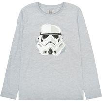 Mini Langarmshirt Star Wars Stormtrooper - Grey Melange