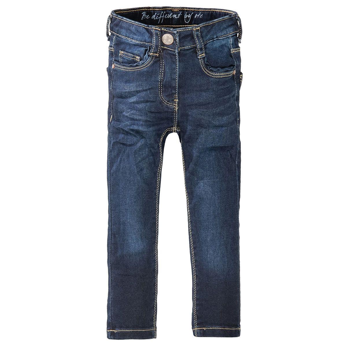 Mädchen Skinny Jeans Slim Fit - Dark Blue Denim