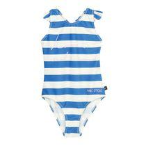 MARC O'POLO Badeanzug mit Print - Blue Stripe