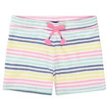ATTENTION Shorts im Streifen-Design - Multicolor