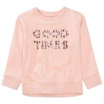 BASEFIELD Sweatshirt GOOD TIMES - Blush Rose