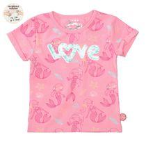 JETTE T-Shirt WENDEPAILLETTEN Love - Taffy Rose AOP