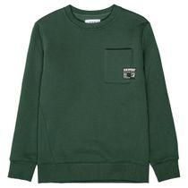 Sweatshirt mit Wording auf der Rückseite - Forest