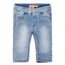 Jeans mit elastischem Bund - Blue Denim