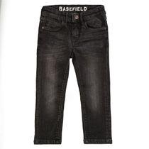 BASEFIELD Jeans mit verwaschener Optik - Dark Anthra