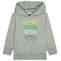 ATTENTION Kapuzen-Sweatshirt - Grey melange