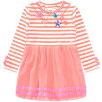 JETTE Kleid mit Tüllrock - Bright Coral
