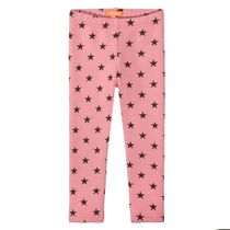 Thermo-Leggings mit Sterne-Allover-Print - Soft Rose