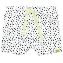 ORGANIC COTTON Shorts mit Allover-Print - White