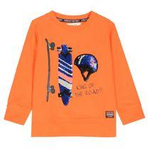 WENDEPAILLETTEN Sweatshirt - Orange