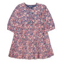 Kleid mit Allover-Print - Deep Ocean