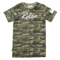 T-Shirt SLIM FIT im Camouflage-Design - Camouflage