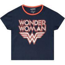 T-Shirt Wonder Women - Marine