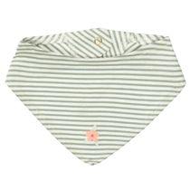 Tuch im Streifen-Design - Khaki