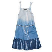 Trägerkleid im Batik-Design - Sea Blue