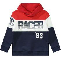 Sweatshirt mit Frontprint - Red