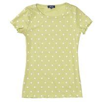 ATTENTION T-Shirt in Ripp-Optik - Khaki