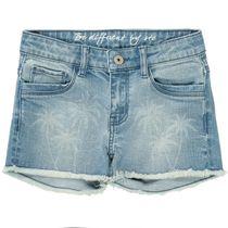 Jeans-Shorts PALM TREES - Mid Blue Denim