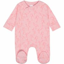 ORGANIC COTTON Pyjama Flamingo - Powder Alloverprint