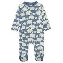 ORGANIC COTTON Pyjama ELEFANT - Soft Jeans Blue