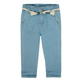 BASEFIELD Jeans mit verwaschener Optik - Light Blue Denim