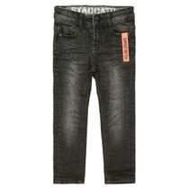 Jungen Skinny Jeans Regular Fit - Black Denim