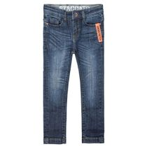 Jungen Skinny Jeans Big Fit - Mid Blue Denim