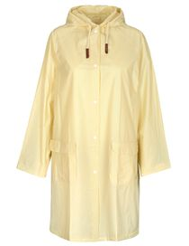 FRY DAY Regenmantel mit Allover-Print - Light Yellow