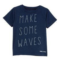 MARC O'POLO T-Shirt mit Print - Washed Blue
