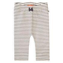 Leggings im Streifen-Design - Offwhite
