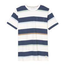 MARC O'POLO T-Shirt aus Organic Cotton-Qualität - Multicolor Stripe