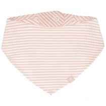 Tuch mit Streifen-Design - Soft Pink