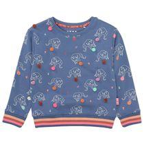 JETTE Sweatshirt mit Applikationen - Cloudy Blue