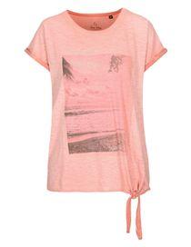 FRY DAY Shirt mit Print - Light Melon