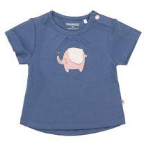 ORGANIC COTTON T-Shirt Elefant - Soft Navy