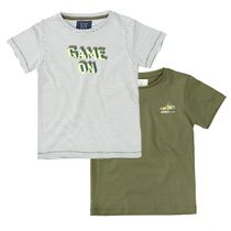 2er-Pack T-Shirts mit Prints - Bunt Sortiert