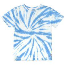 T-Shirt mit Batik-Muster - Dark Ocean