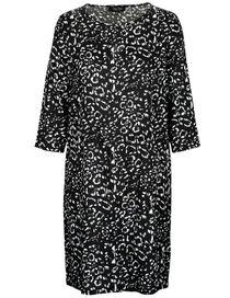 FRY DAY Kleid mit Allover-Print