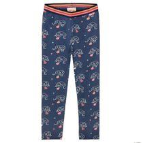 JETTE Sweat-Leggings mit niedlichen Elefanten-Prints - Cloudy Blue AOP