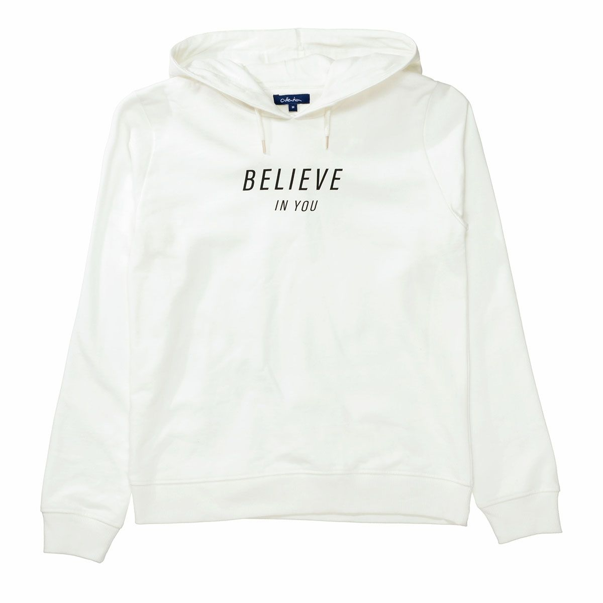 ATTENTION Hoodie BELIEVE - Offwhite