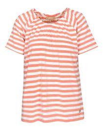 FRY DAY Carmenshirt im Streifen-Design - Light Melon