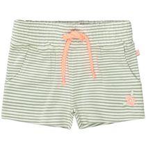 Shorts mit Streifen - Khaki